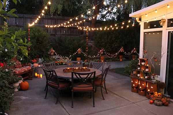 Patio Decorating Ideas For Fall
