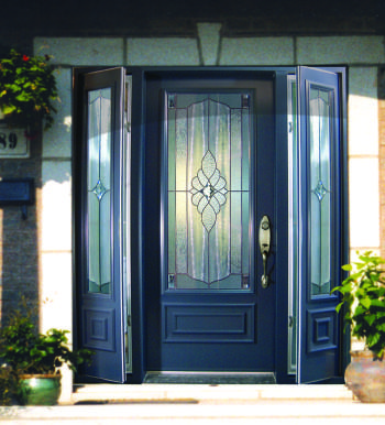 Indoor Outdoor Living Maximized With Venting Slidelites on Entry Doors