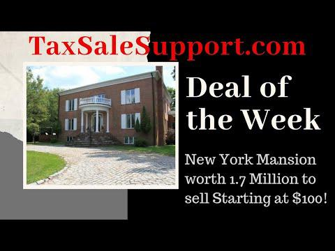 New York Tax Deeds: Deal of the Week