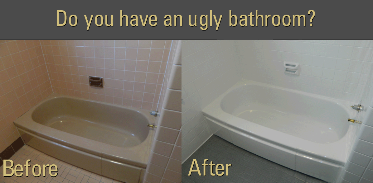 Bathtub Refinishing: A smart alternative to replacement.