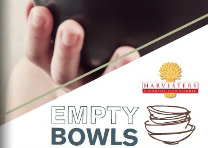 Art Community Fills Empty Bowls to Fill Empty Cupboards, Empty Tummies