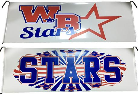 Retractable Hand Banners & WEBO Stars Banners