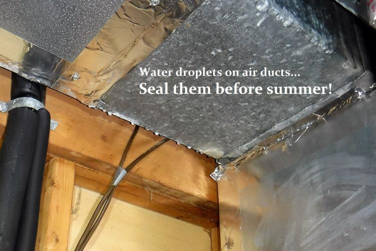Who's Gonna be Sweating Bullets this Summer; You? Or, Your Ducts?
