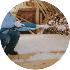 Blown Insulation vs. Spray Foam Insulation - Mapping it Out