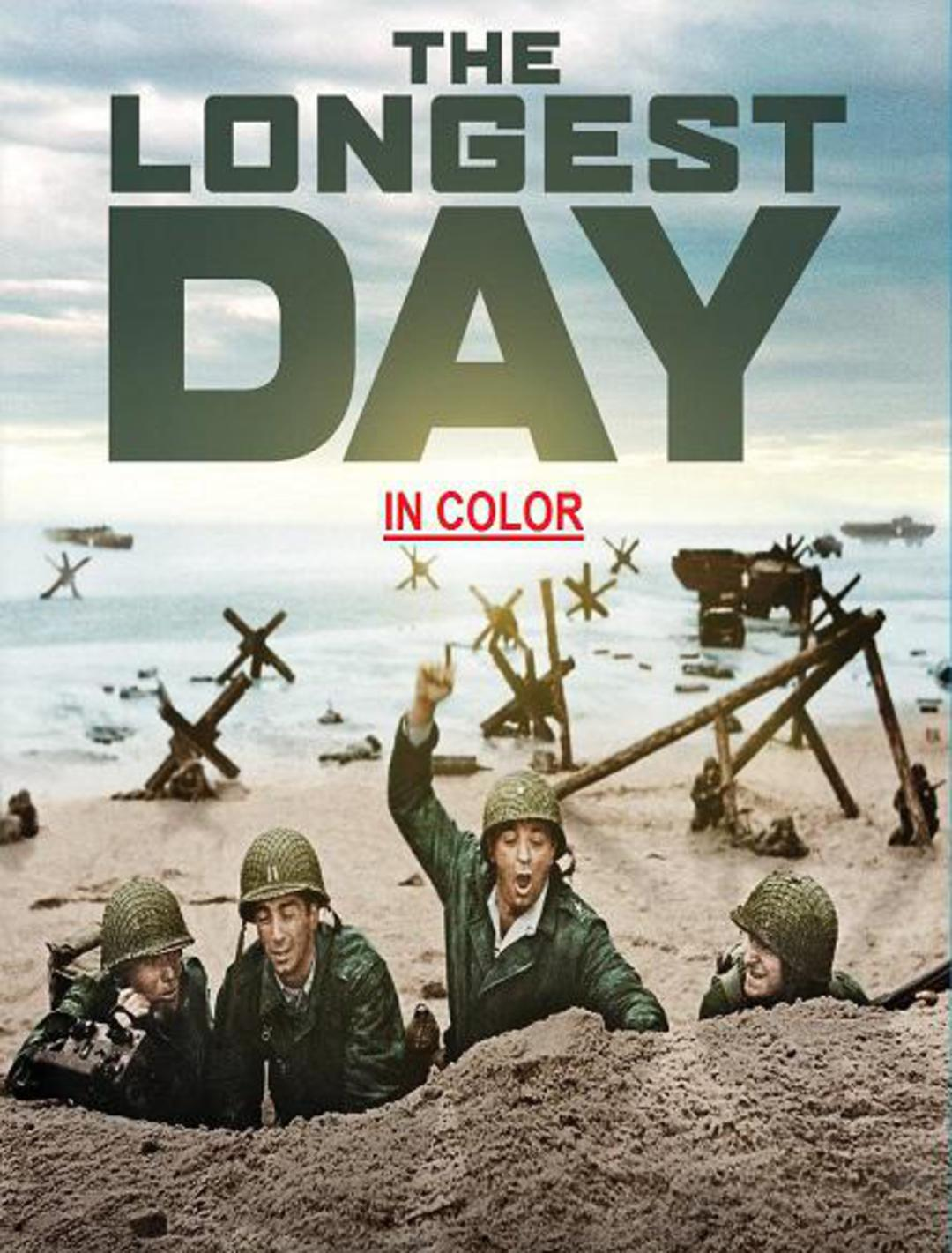 THE LONGEST DAY (in Color)