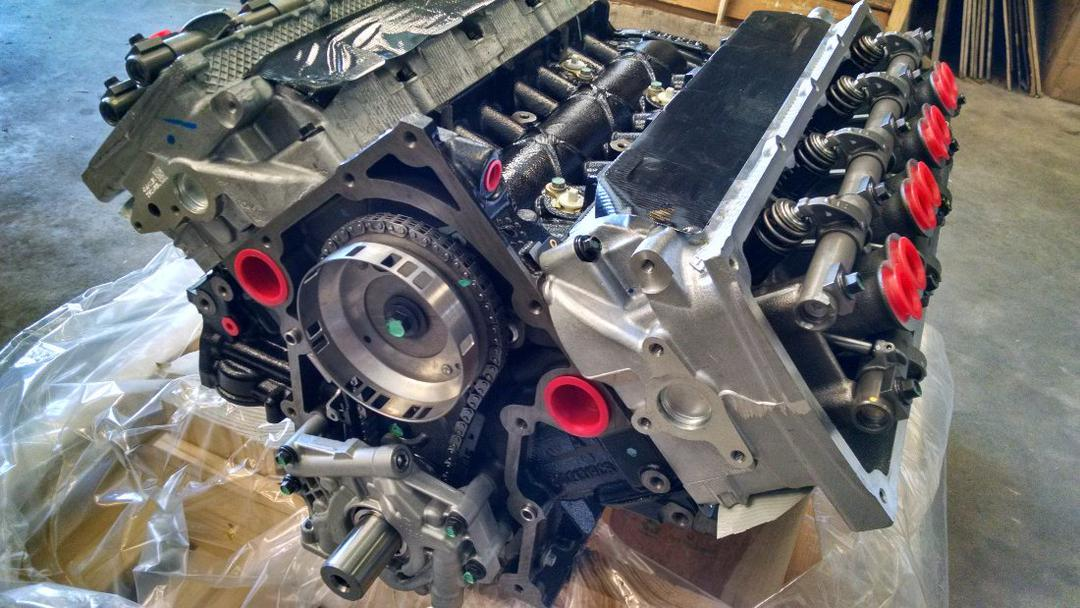 Mopar Gen3 Hemi 5 7l Long Block  With Mds