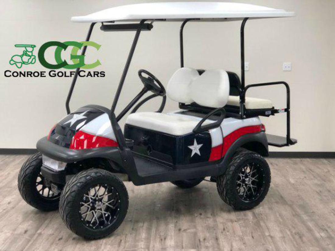 Golf Cart Txflag