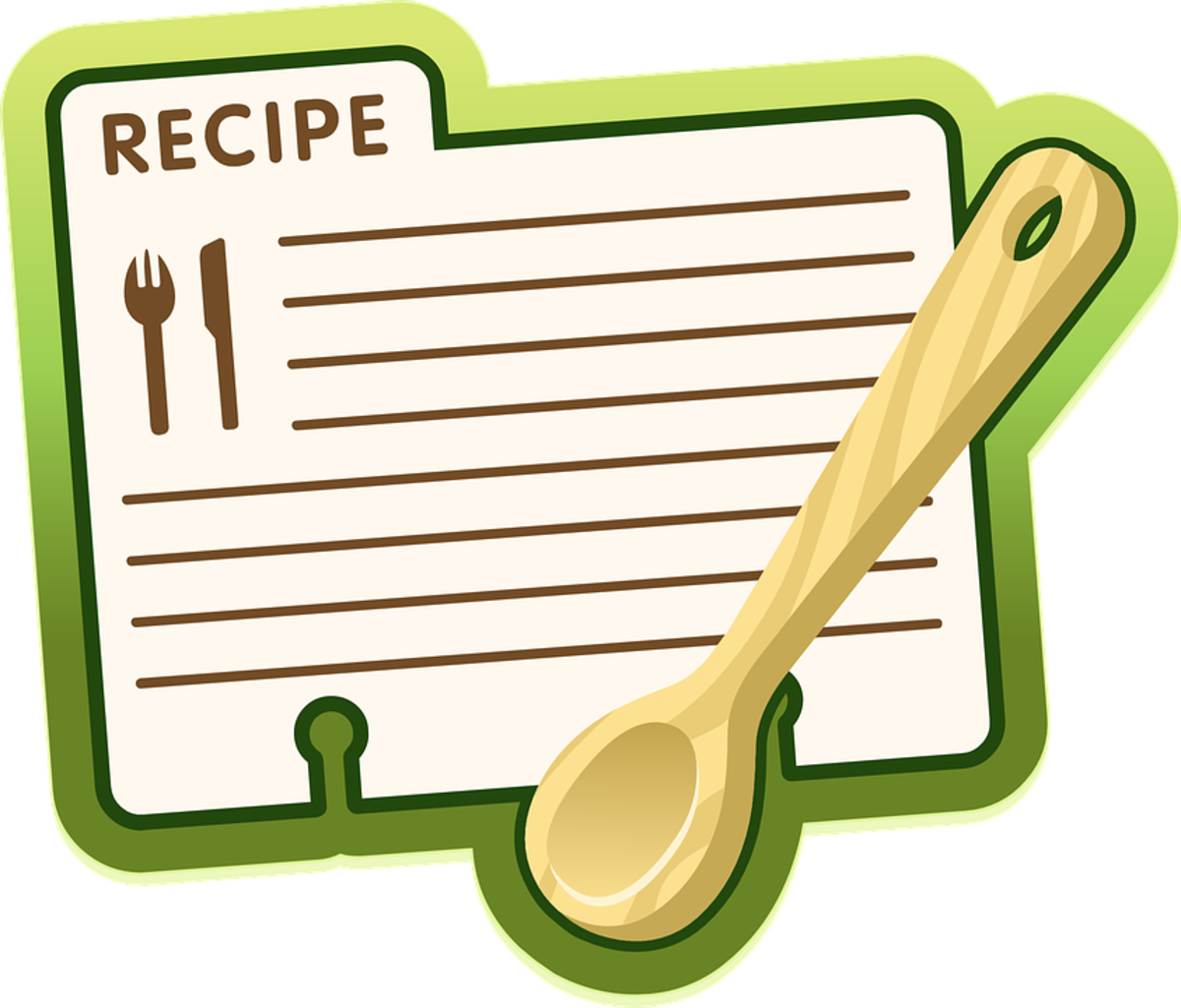 MULTIPLE SOLUTIONS FOR RECIPE ORGANIZATION