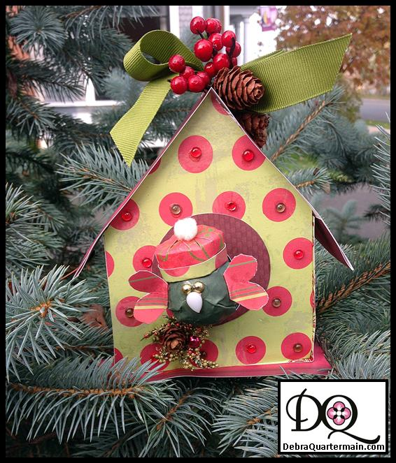 Holiday House Ornament!