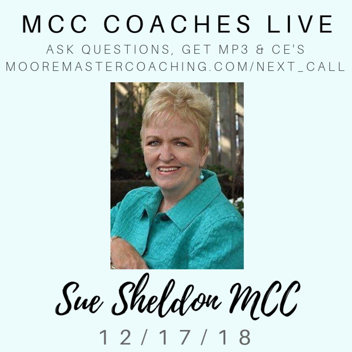 Sue Sheldon MCC