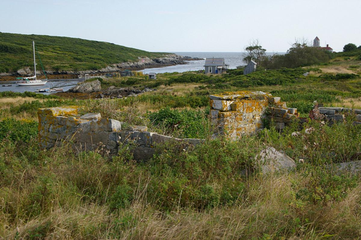 Abandoned Island Village and the Birth of a Book Idea