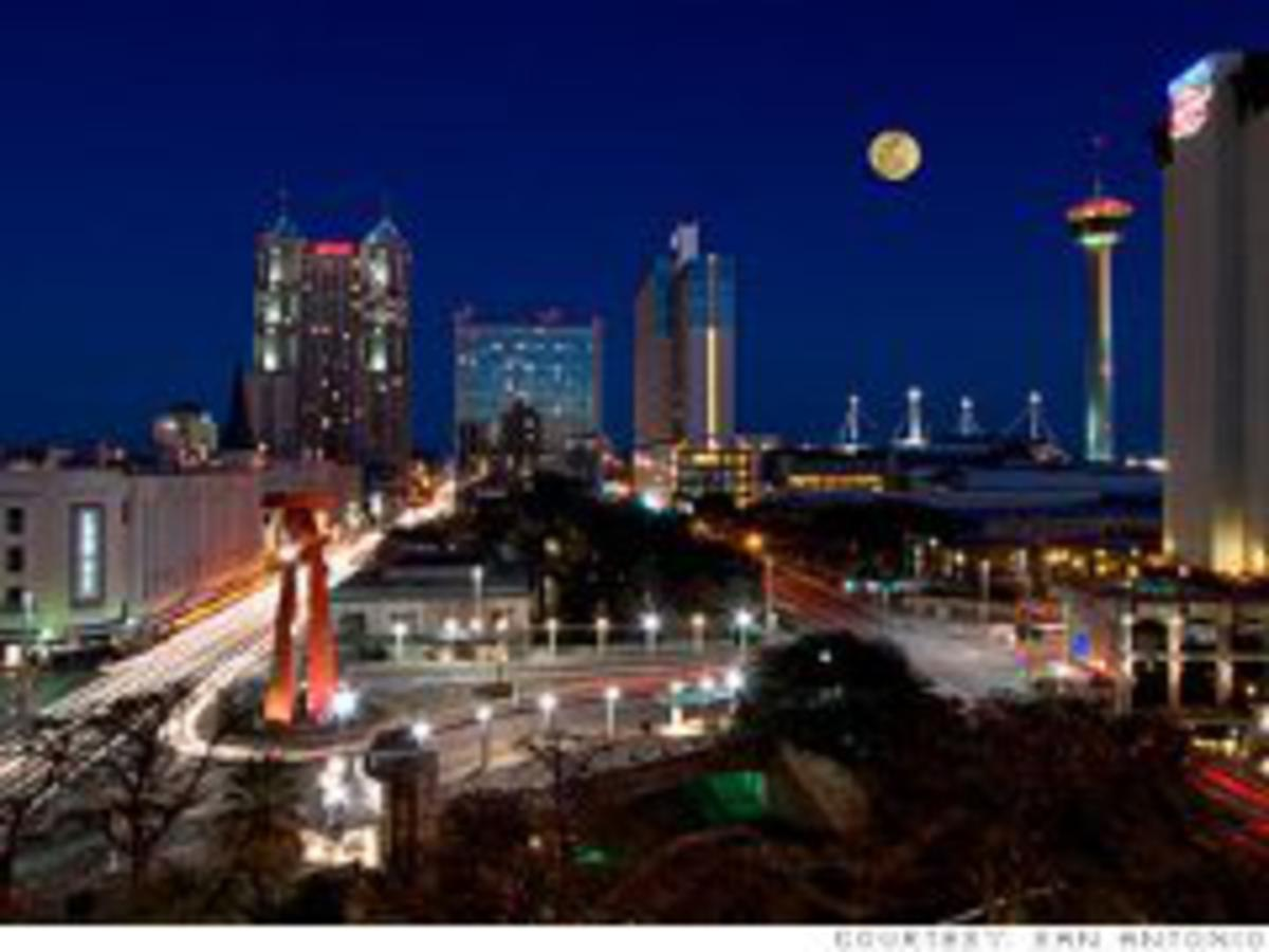 San Antonio here I come.