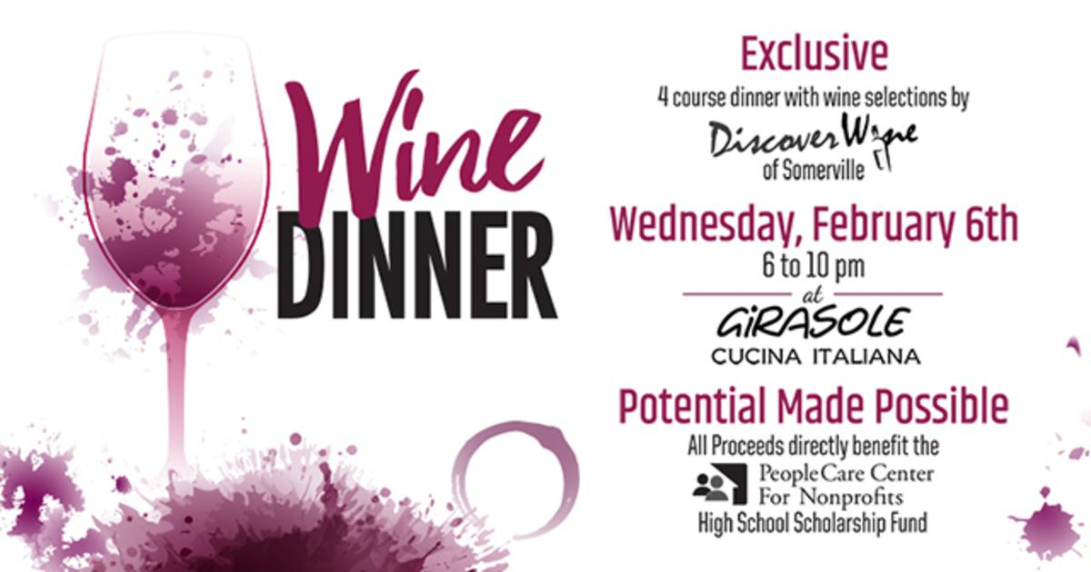 Wine Dinner benefitting Scholarships