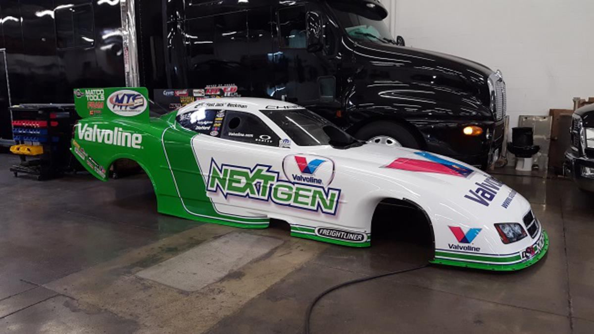 Speed City Starts Build on 4500HP Electric Funny Car