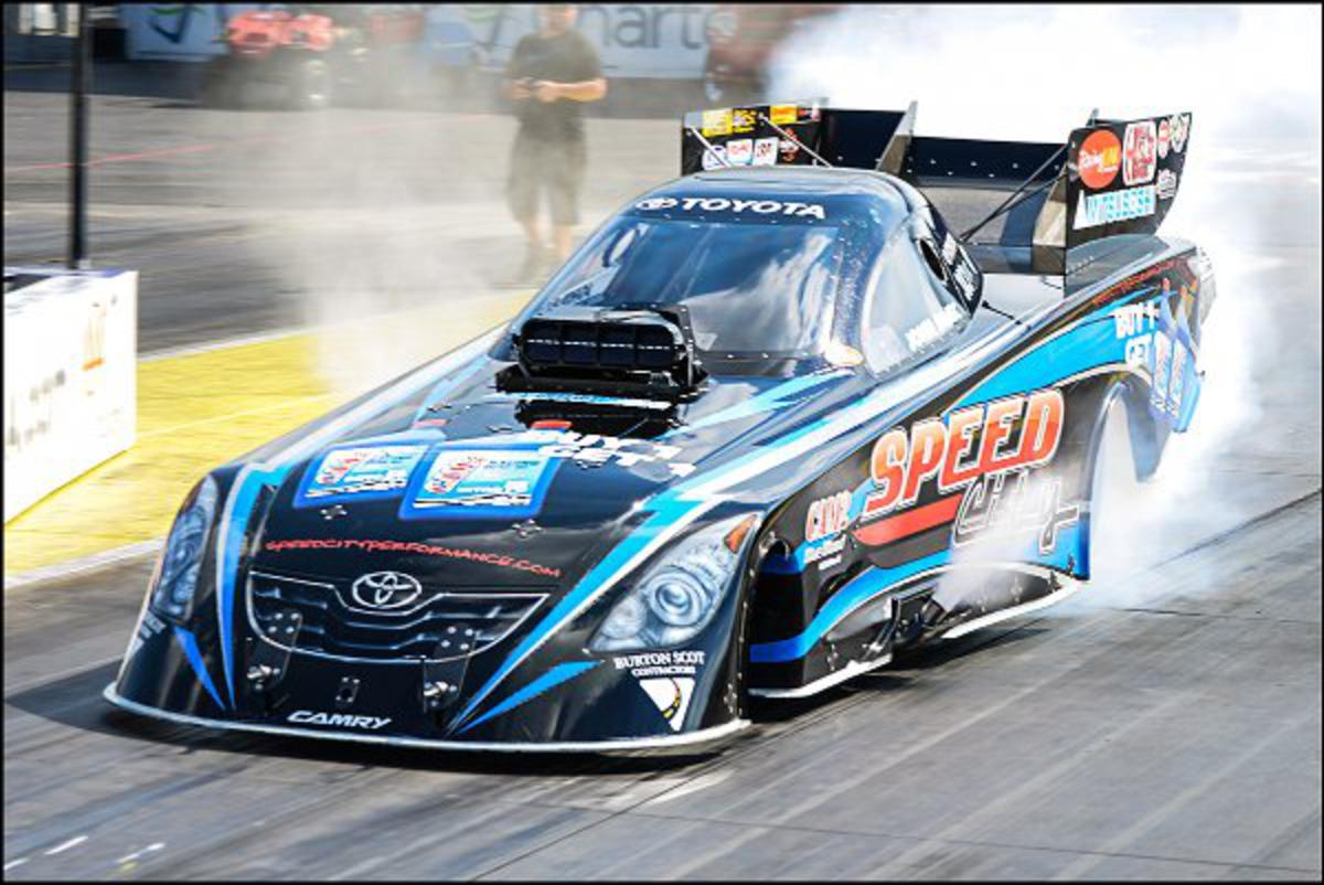 Speed City Commits to Three Race NHRA Nitro Funny Car Schedule