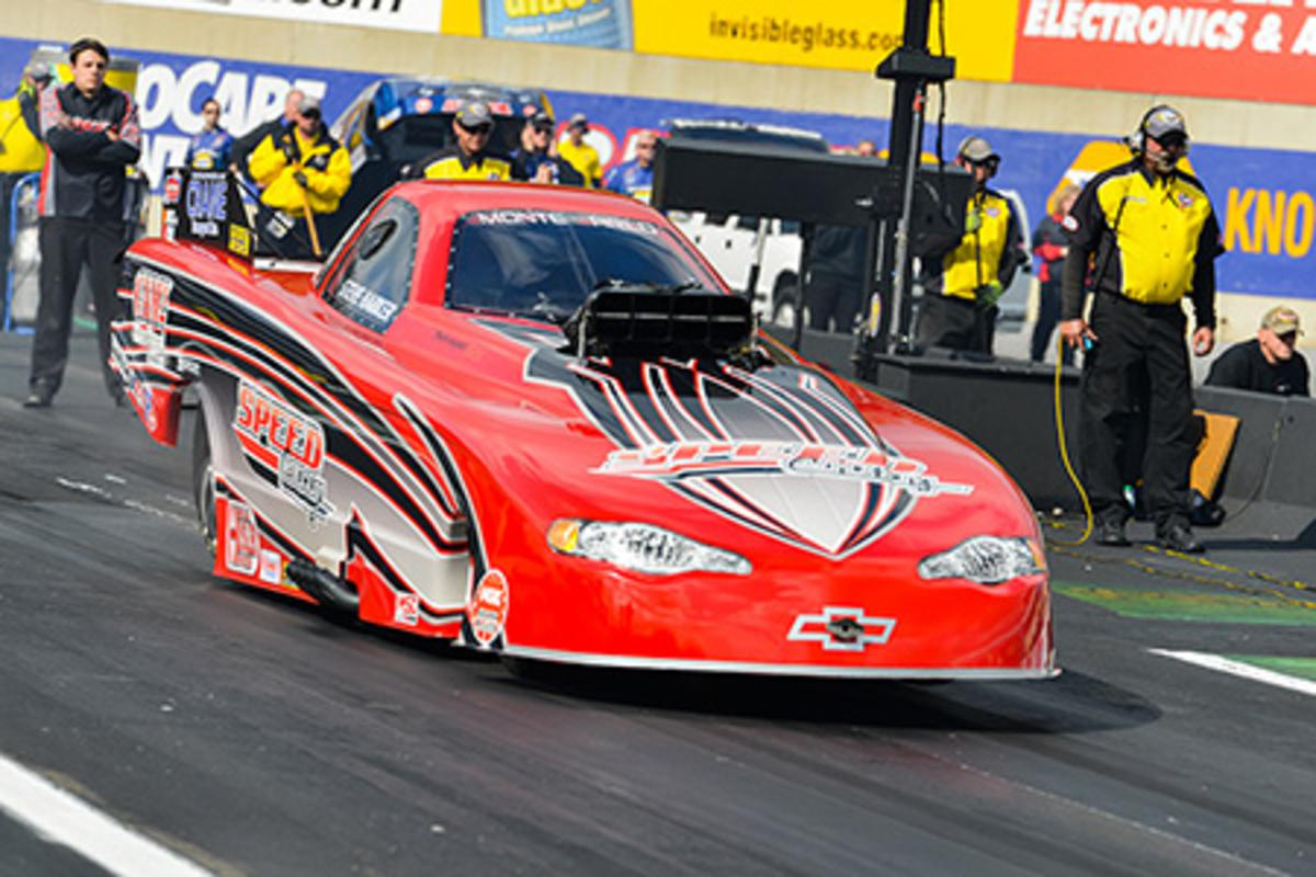 Harker Clinches the 2014 NHRA Top Alcohol Funny Car Championship
