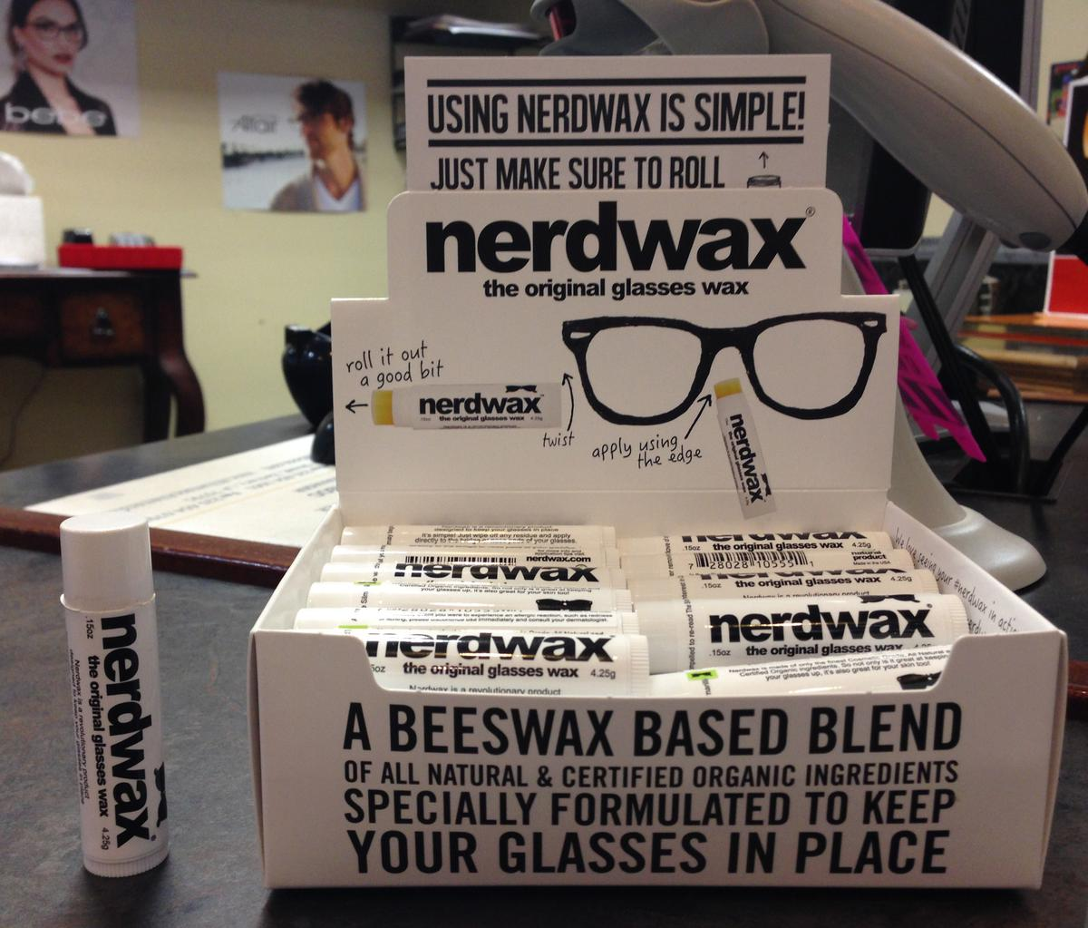 NerdWax Is Here! (As seen on Shark Tank)