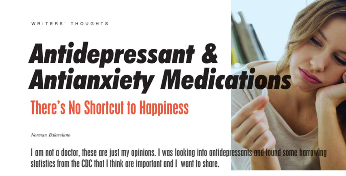 Antidepressant & Antianxiety Medications