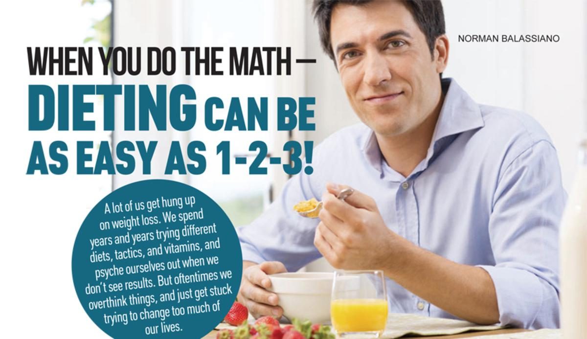When You Do the Math - Dieting Can be as Easy as 1-2-3!