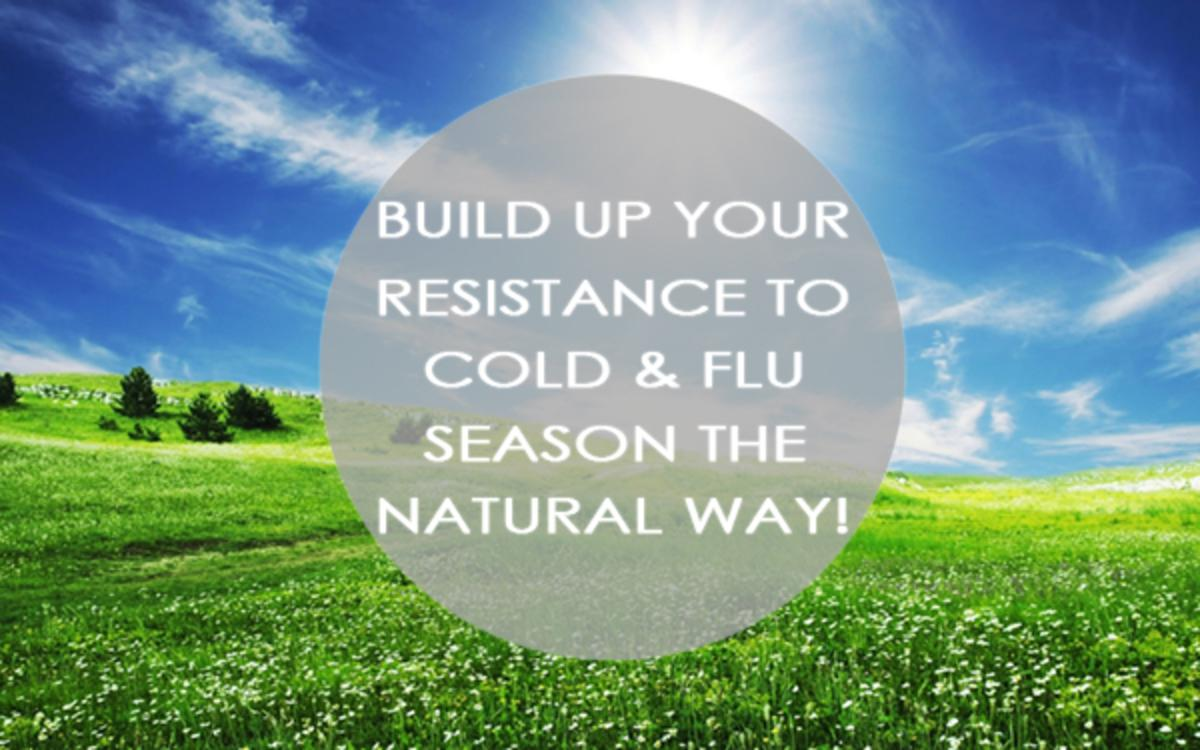 Build Up Your Resistance To Cold And Flu Season The Natural Way!