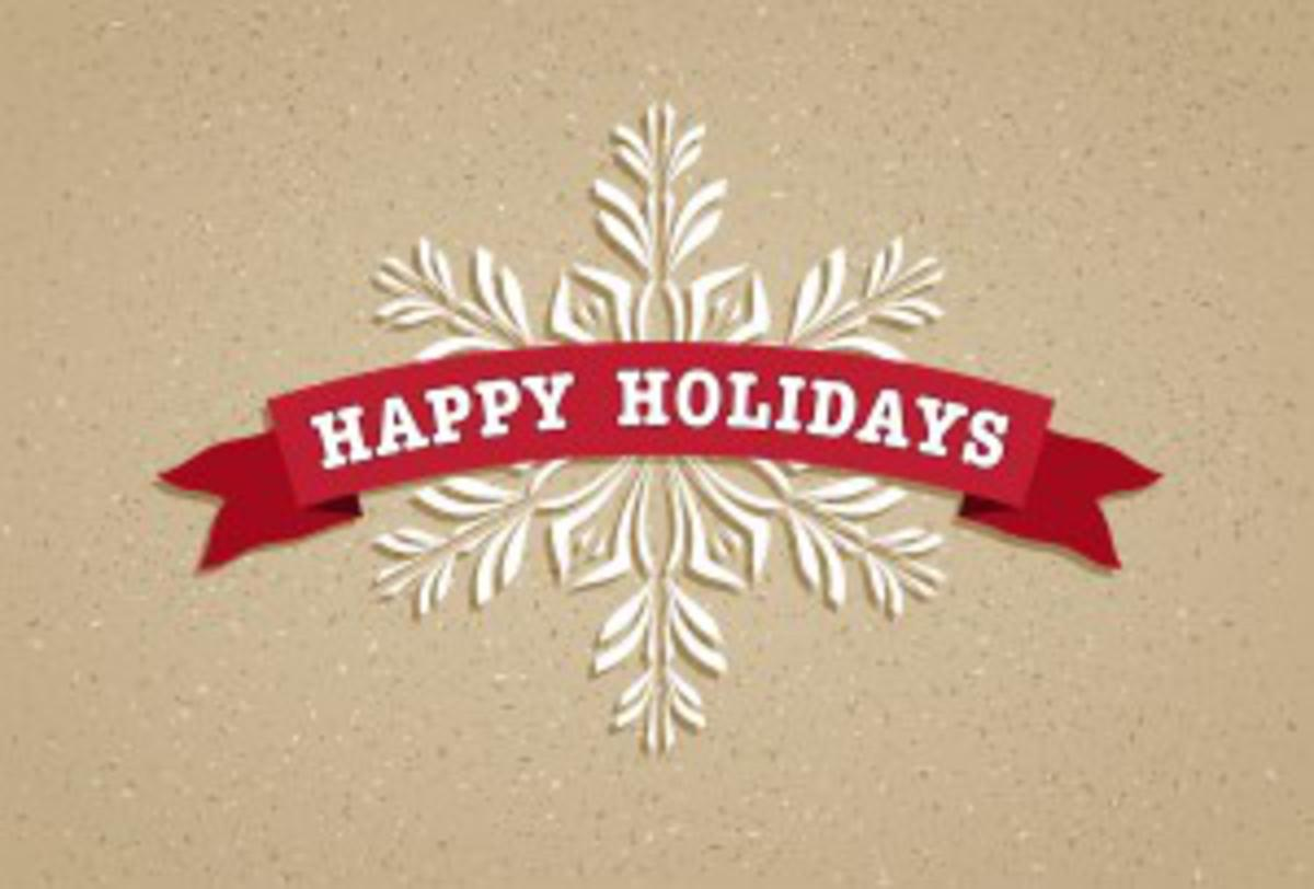 Happy Holidays and Thank You from AG Millworks