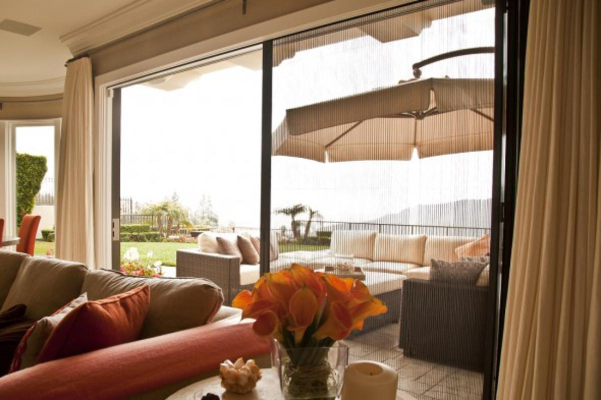 Retractable Screens Blending the Out with the In