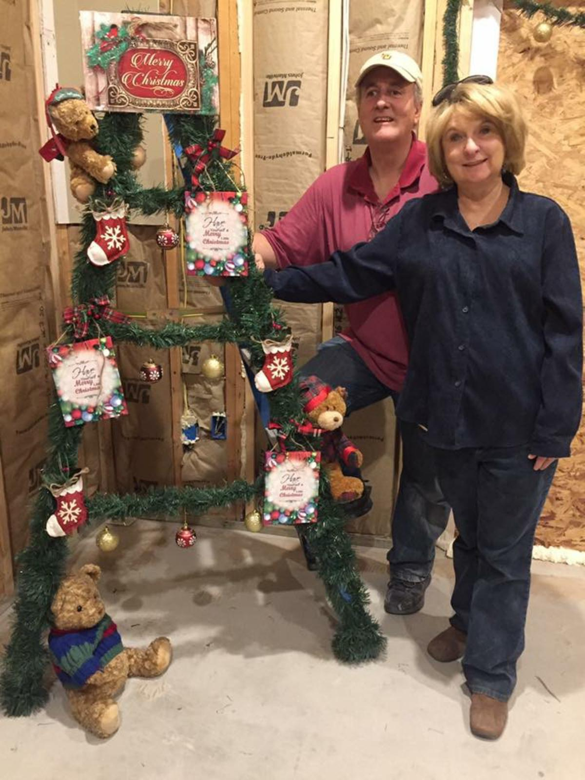 Louisiana Christmas Ladder