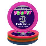 Blacklight Reactive 9 inch PARTY PLATES