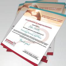Graphic Design and Print Certificates
