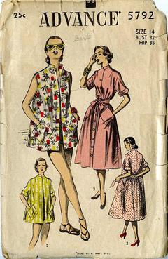 610367fe09 Vintage Pattern Warehouse, vintage sewing patterns, vintage fashion,  crafts, fashion - Swimwear