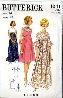 16a29ebf7d 1960 s Butterick  4041 Vintage Sewing Pattern