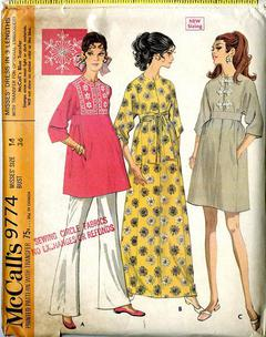 Copy from vintage booklet. Lady/'s vintage pinafore dress crochet pattern