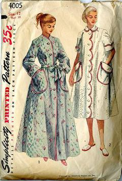 1952 Simplicity  4005 Vintage Sewing Pattern 963780800