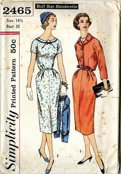 top and skirt pattern 2871 Vintage 40;s UNCUT Simplicity Misses sz 14 shorts Bra bust 32