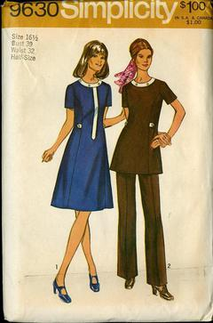 7614 Vintage Simplicity Sewing Pattern Misses Jiffy Unlined Jacket Pants UNCUT