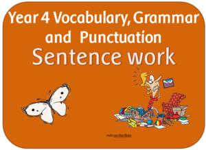 EYFS KS1 KS2 teaching resources - Y4 SENTENCE: Expanded noun phrases ...