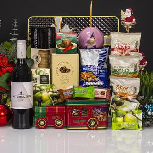 Santa Express with Wine Gift Hamper