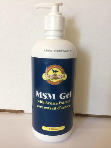 MSM Gel with Arnica Extract
