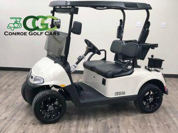 Conroe Golf Cars - Used Golf Carts For Sale on lincoln on a rail cart, 2013 ezgo txt, 2013 ezgo electric golf cart,