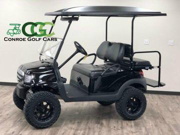 Conroe Golf Cars - Inventory on black trailer, black tv, black toy hauler, black bus,