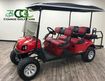 EZGO Golf Cart 6 Passenger, EZGO L6, Factory Warranty