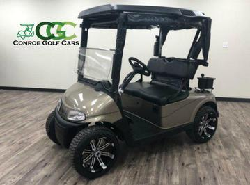 EZGO RXV, EZGO Golf Cart, Almond Pearl Golf Cart