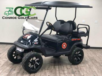 custom team lifted golf cart