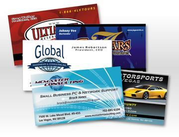 Las Vegas Business Card Printing