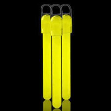 8'' Blue Premium Deluxe Glow Bracelets