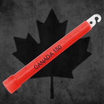 Party with Canada 150 glow sticks
