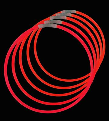 Glow Necklaces Red Tube of 50