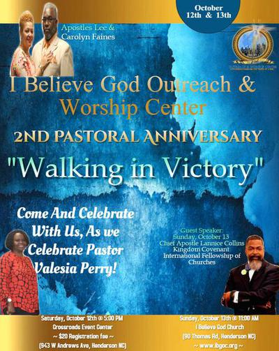 I Believe God Outreach and Worship Center - Ministry Calendar