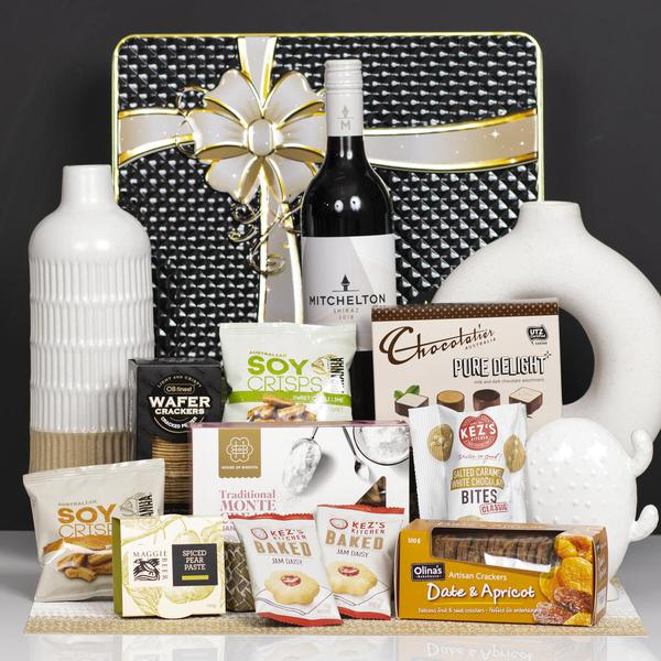 Sweet and Savoury with Wine Gift Hamper