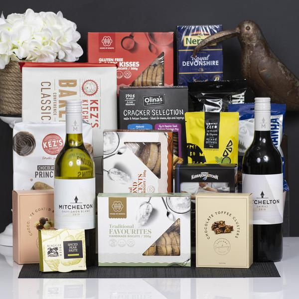 Gourmet Chest with Mitchelton Red and White Gift Hamper